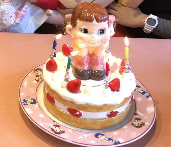 ペコちゃんケーキ