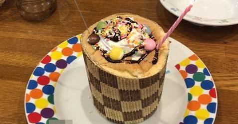 ブロンコビリーケーキ