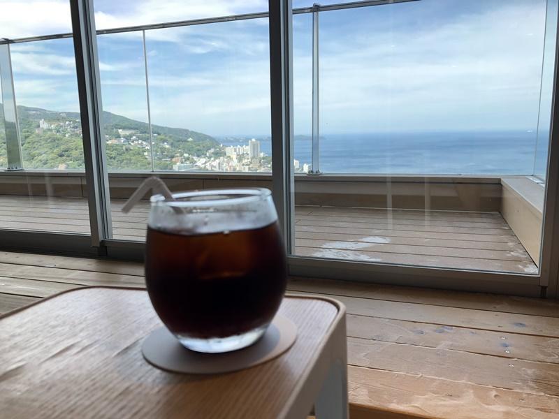 コーヒーと景色