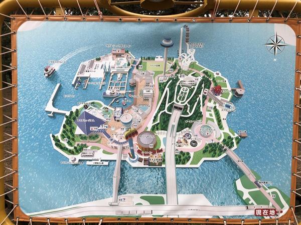 八景島マップ