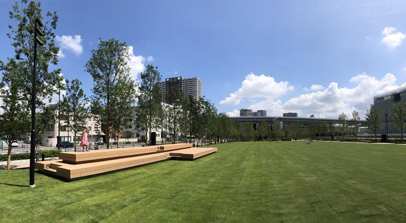 有明ガーデンパーク芝生