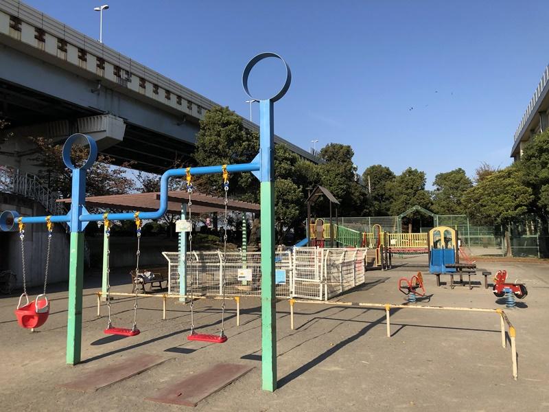 隅田公園東京ミズマチ側遊具