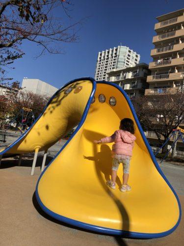 東品川公園!無料で子供の自転車練習ができるユニーク遊具も充実の公園!