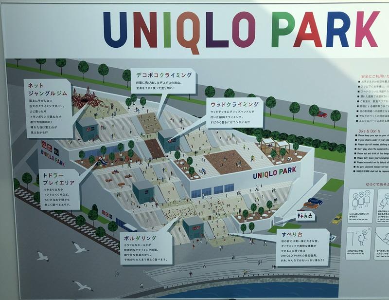 ユニクロパーク全体マップ