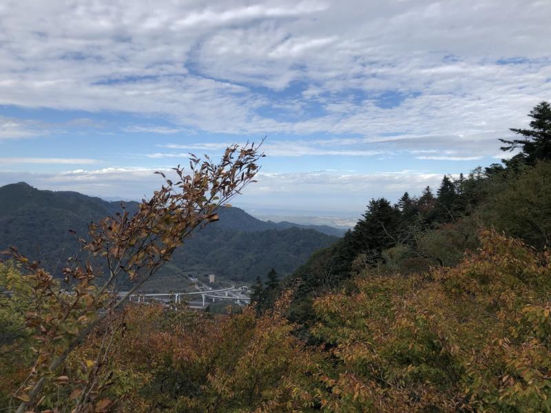 高尾山駅からの風景