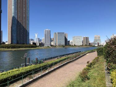 越中島公園!無料貸出サイクリングで子供の自転車練習もできる江東区リバーサイドパーク!