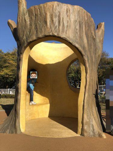 世田谷砧(きぬた)公園みんなのひろば!子供に人気のユニバーサルデザイン遊具!