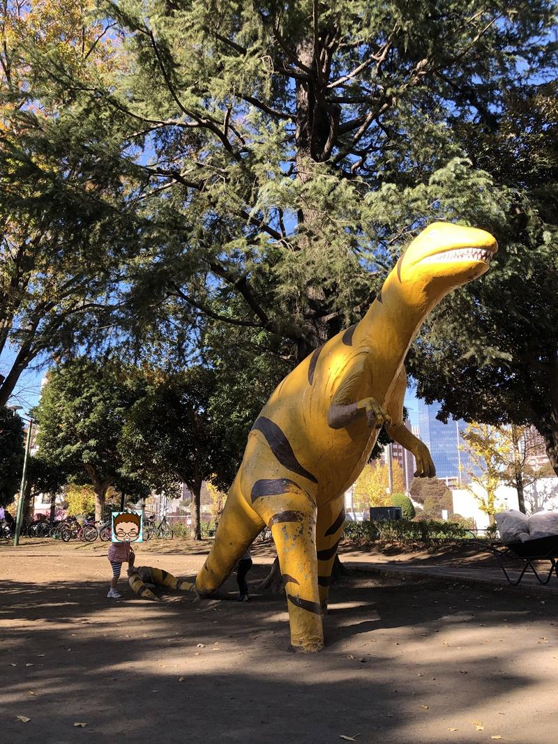 子供の森公園(ティラノサウルス)