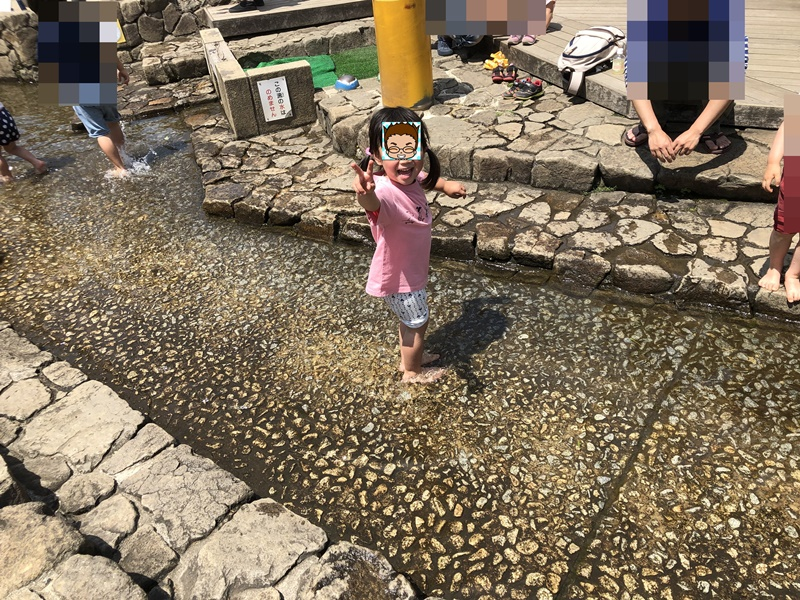 東調布公園水遊び
