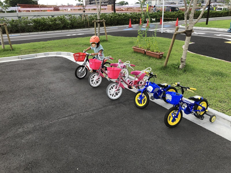 東部交通公園自転車