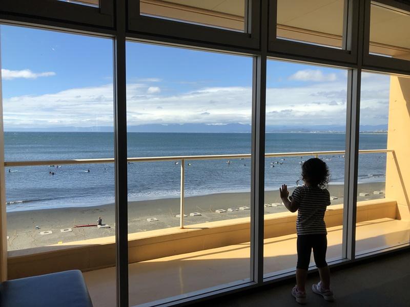 水族館から見える海