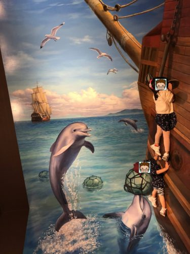 横浜ランドマークタワートリックアートクルーズ!みなとみらいで子供連れ家族が遊べる室内スポット!