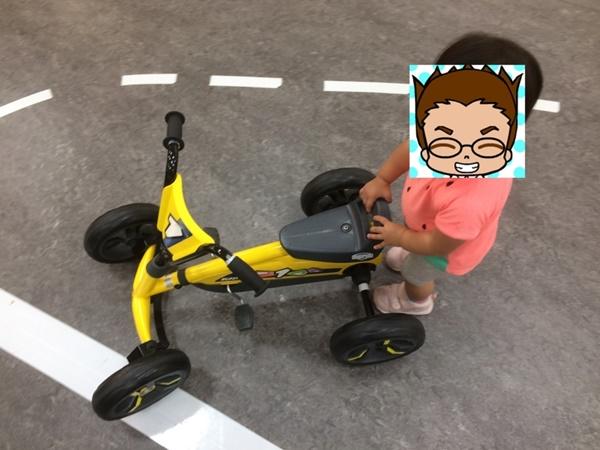 アネビートリムパーク三輪車