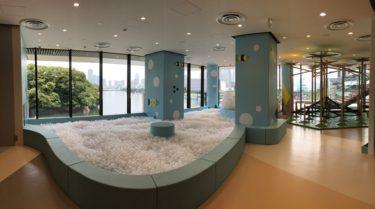 アトレ竹芝キュラパーク!浜松町近くに新たにオープンした子供向け室内遊び場!