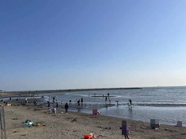 西なぎさ海辺