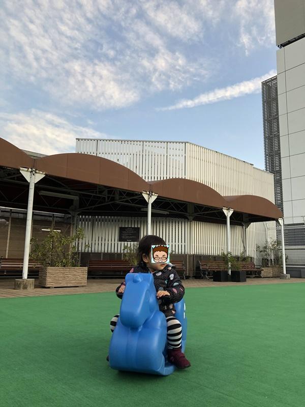 松坂屋上野店屋上広場