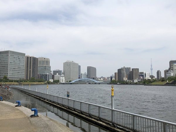 石川島公園の風景