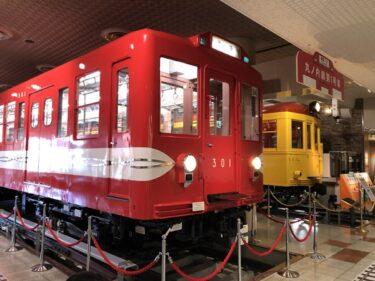 地下鉄博物館車両展示