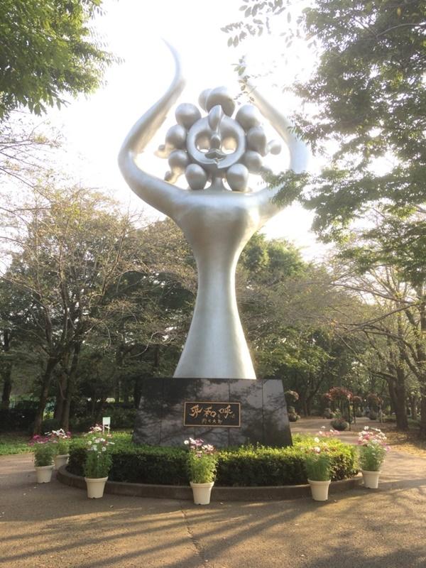 アンデルセン公園平和の像